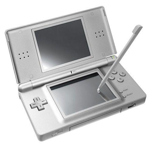 Игровая консоль NINTENDO DS Lite, серебристый