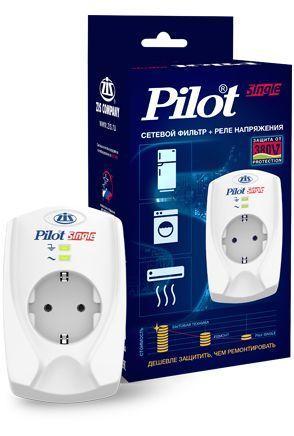 Сетевой фильтр PILOT Single, белый [011]