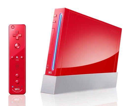 Игровая консоль NINTENDO Wii 87994, красный