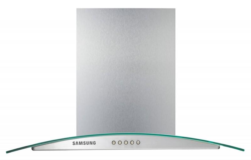 Каминная вытяжка SAMSUNG HDC6255BG,  кнопочное,  серебристый