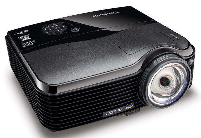 Проектор VIEWSONIC PJD7383 черный [vs13339]