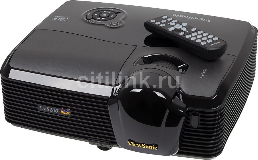 Проектор VIEWSONIC Pro8200 черный [vs13648]