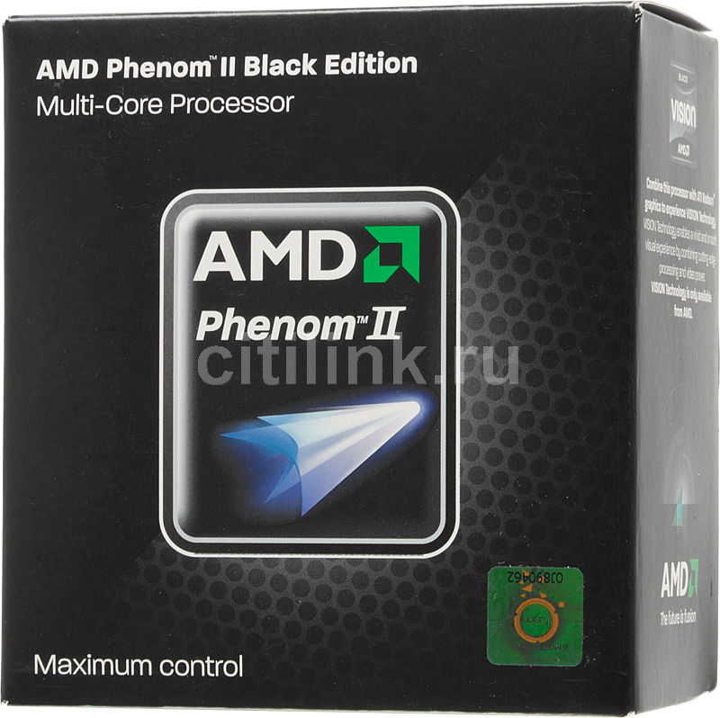 Процессор AMD Phenom II X2 565, SocketAM3 BOX [hdz565wfgmbox]
