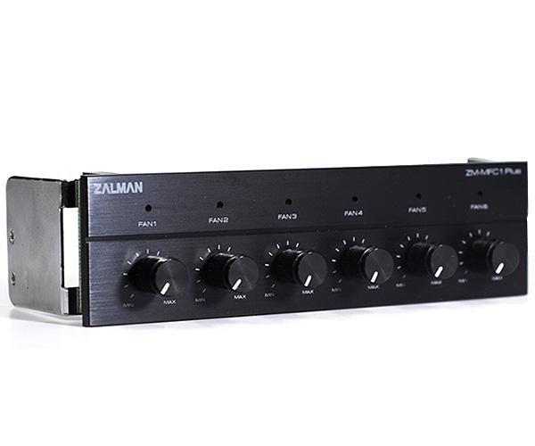 Контроллер Zalman ZM-MFC1 PLUS 6-канальный черный [zm-mfc1 plus bl]