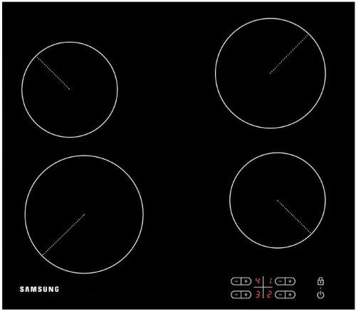 Варочная панель SAMSUNG C61R2AEE,  Hi-Light,  независимая,  черный