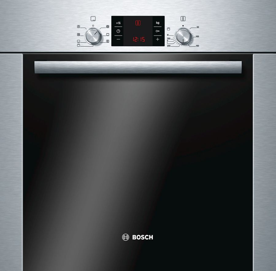 Духовой шкаф BOSCH HBA24U250,  серебристый