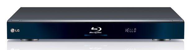 Плеер Blu-ray LG BD-590, черный