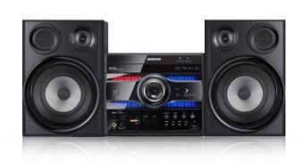 Музыкальный центр SAMSUNG MAX-G55R,  черный
