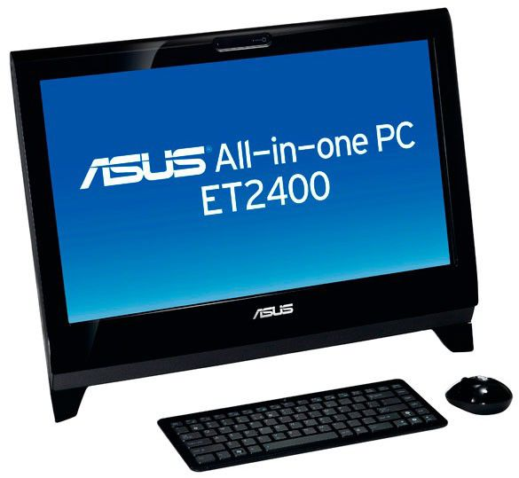 ASUS EeeTop PC ET2400INT,  AMD  Athlon II X2  220,  DDR3 2Гб, 500Гб,  ATI Radeon HD 3000,  DVD-RW,  CR,  Windows 7 Home Premium,  черный [90pe3la43218e60a9c0q]