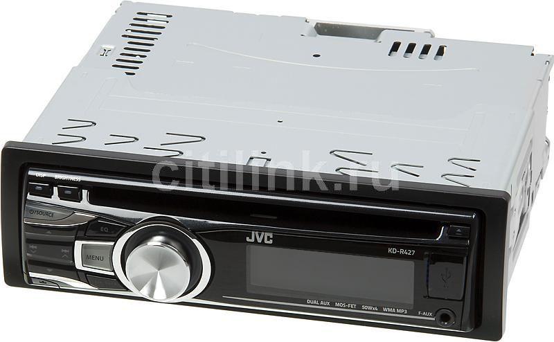 Автомагнитола JVC KD-R427,  USB