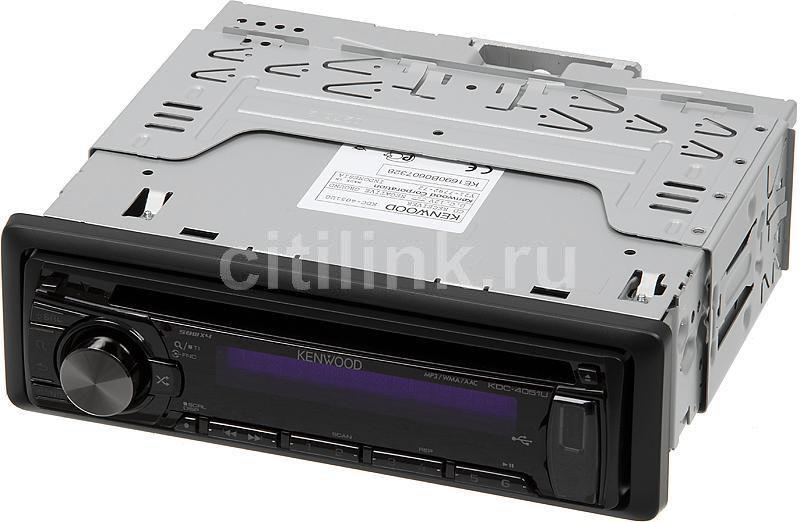 Автомагнитола KENWOOD KDC-4051UG,  USB