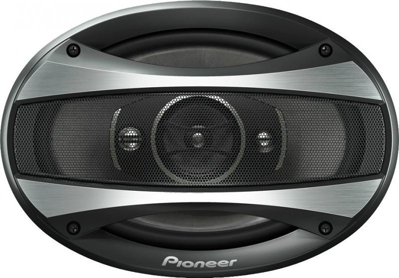 Колонки автомобильные PIONEER TS-A6926,  коаксиальные,  400Вт