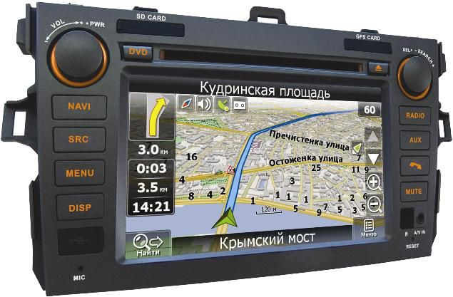 Автомагнитола VELAS V-TCG,  Toyota Corolla,  USB,  SD