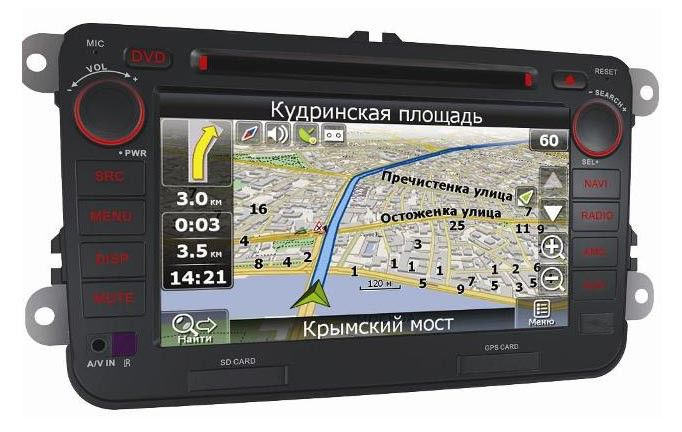 Автомагнитола VELAS V-VWG,  VW Passat, Golf, Golf Plus, Jetta, Touran, Caddy,  USB,  SD