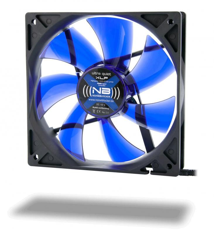 Вентилятор NOISEBLOCKER BlackSilentFan XLP,  120мм, Ret