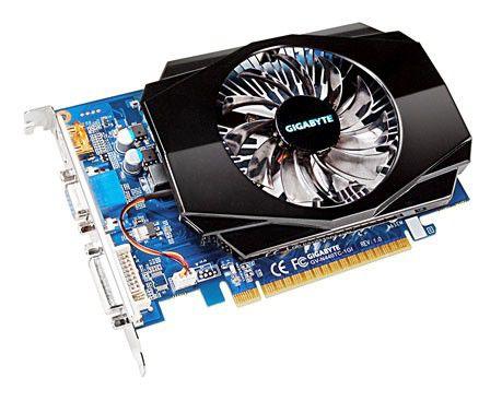 Видеокарта GIGABYTE GeForce GT 440,  512Мб, GDDR5, Ret [gv-n440tc-1gi]