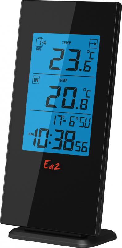 Термометр EA2 BL501,  черный