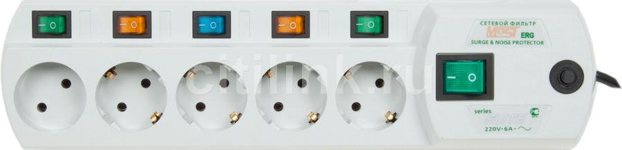 Сетевой фильтр MOST ERG, 2м, белый [erg 2 m, wh]