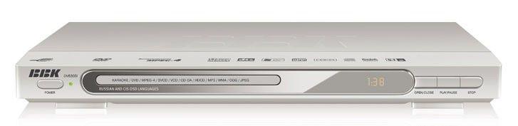 DVD-плеер BBK DV630SI,  серебристый,  диск 500 песен