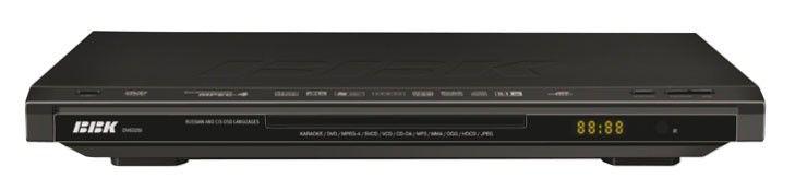 DVD-плеер BBK DV632SI,  черный,  диск 500 песен