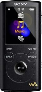 MP3 плеер SONY NWZE053 flash 4Гб черный