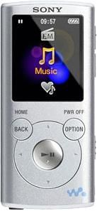 MP3 плеер SONY NWZ-E053 flash 4Гб серебристый [nwze053s]