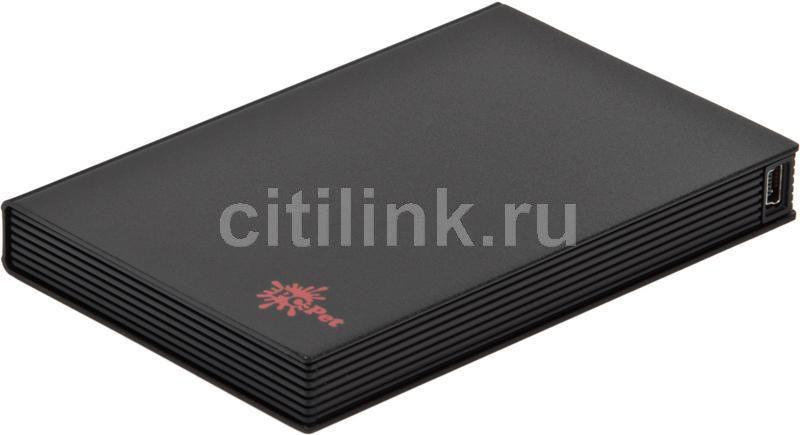 Внешний корпус для  HDD PC PET AM25B2, черный