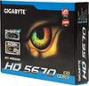 Видеокарта GIGABYTE Radeon HD 5670,  1Гб, DDR3, Ret [gv-r567d3-1gi] вид 7