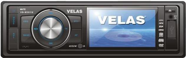 Автомагнитола VELAS VD-M301U,  USB,  SD