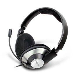 Наушники с микрофоном CREATIVE HS-620,  51EF0390AA002,  мониторы, серебристый  / черный