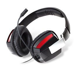 Наушники с микрофоном CREATIVE HS-850,  51EF0360AA000,  мониторы, черный