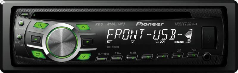 Автомагнитола PIONEER DEH-2310UB,  USB