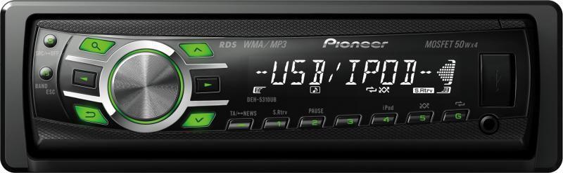 Автомагнитола PIONEER DEH-5310UB,  USB