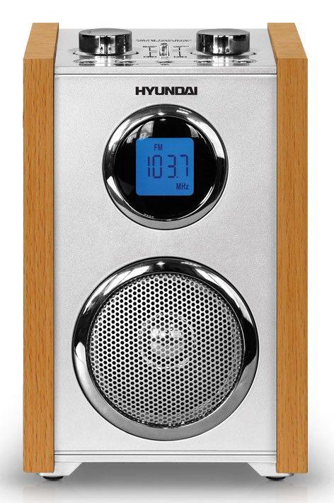 Радиоприемник HYUNDAI H-1621,  светло-коричневый