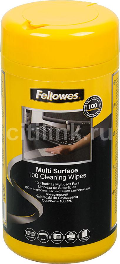 Влажные салфетки FELLOWES FS-99715