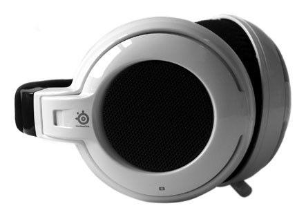 Наушники с микрофоном STEELSERIES Siberia Neckband,  51006,  мониторы, белый