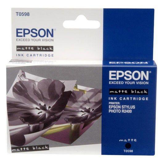 Картридж EPSON T0598 черный матовый [c13t05984010]