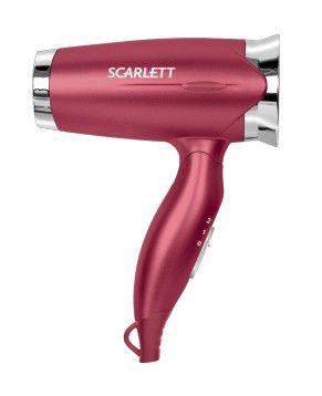 Фен SCARLETT SC-070, 1200Вт, красный