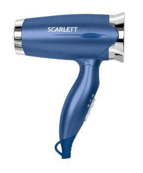 Фен SCARLETT SC-070, 1200Вт, синий