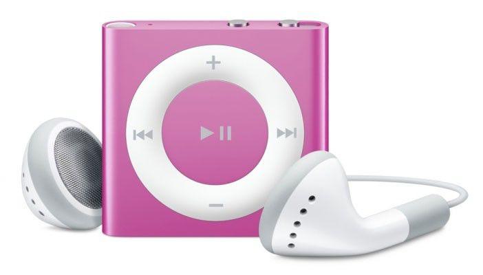 MP3 плеер APPLE iPod Shuffle flash 2Гб розовый [mc585]