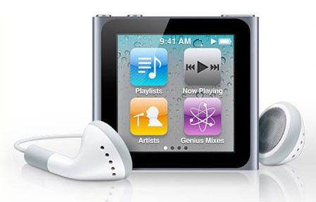 MP3 плеер APPLE iPod Nano flash 16Гб темно-серый [mc694]