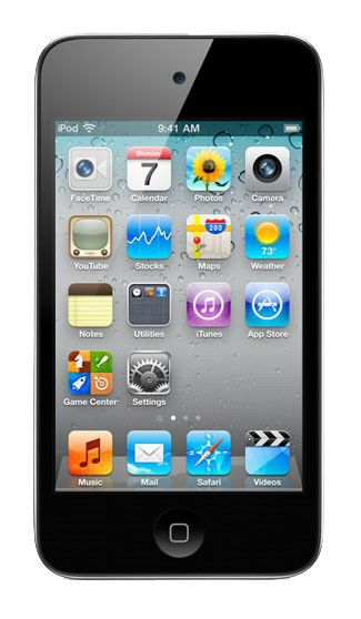 MP3 плеер APPLE iPod Touch flash 64Гб черный [mc547]