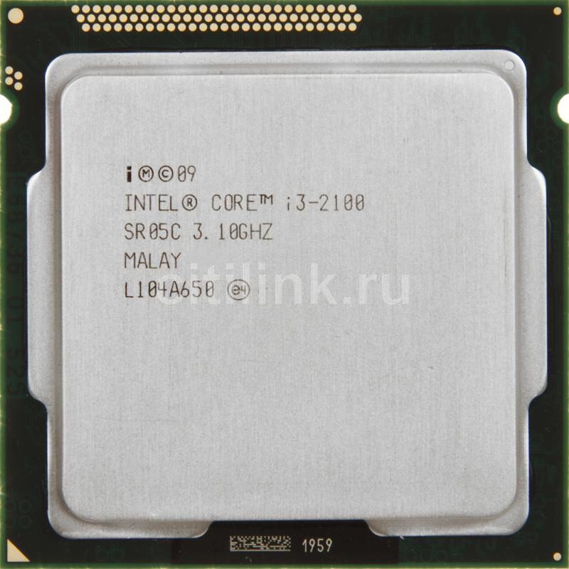 Процессор INTEL Core i3 2100, LGA 1155 OEM [cpu intel lga1155 i3-2100 oem]