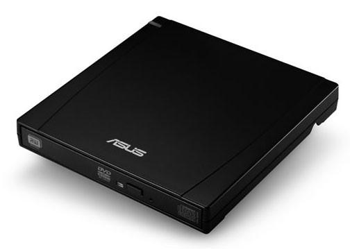 Оптический привод DVD-RW ASUS SLIM EXT.DVD-RW, внешний, USB, черный,  Ret [slim ext.dvd-rw/bk]