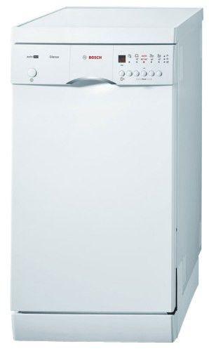 Посудомоечная машина BOSCH SRS46T22RU,  узкая, белая