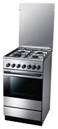 Газовая плита ELECTROLUX EKK511510X,  электрическая духовка,  серебристый