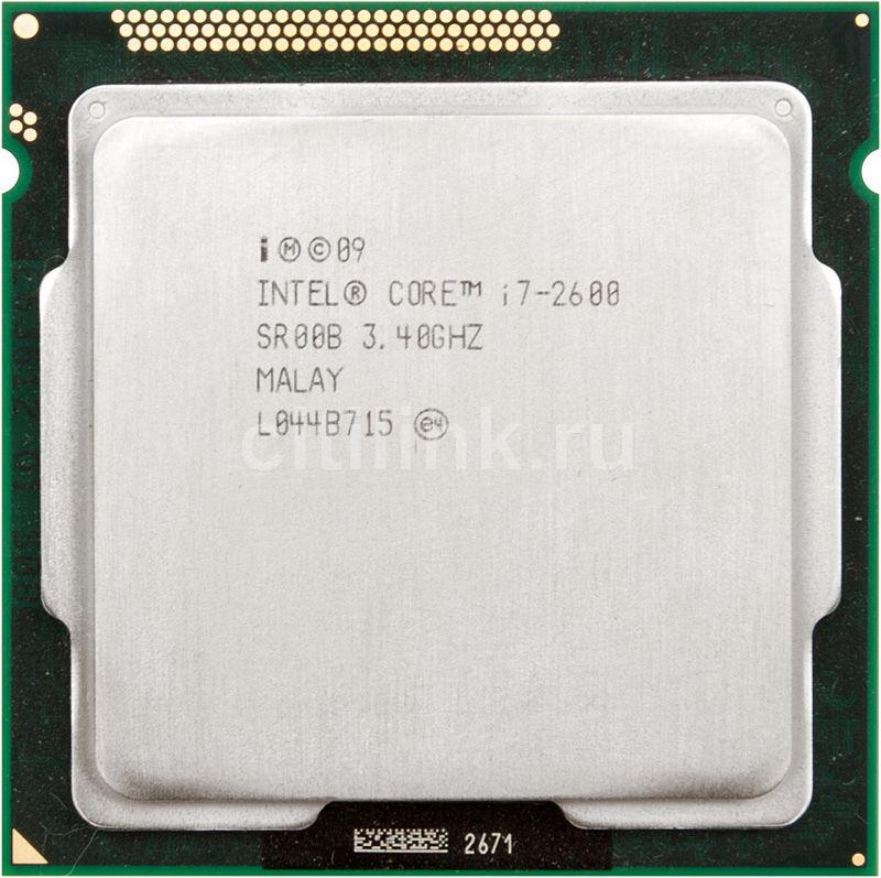 Процессор INTEL Core i7 2600, LGA 1155 OEM [cpu intel lga1155 i7-2600 oem]