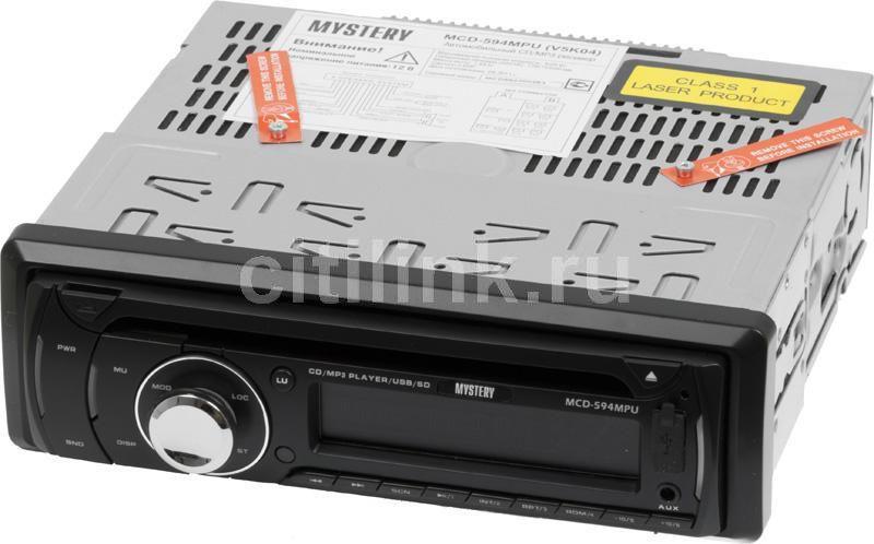 Автомагнитола MYSTERY MCD-594MPU,  USB,  SD/MMC
