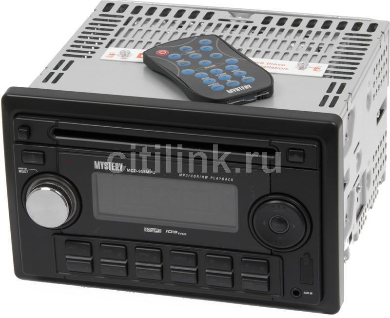 Автомагнитола MYSTERY MCD-958MPU,  USB,  SD/MMC