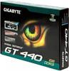 Видеокарта GIGABYTE GeForce GT 440,  1Гб, DDR3, OC,  Ret [gv-n440d3-1gi] вид 7